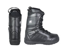 540 Rebel Mens Black Snowboard Boots