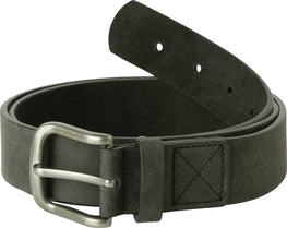 RVCA Truce Black Leather Belt