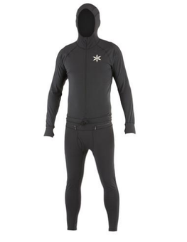 Airblaster Ninja Mens Black Base Layer Suit