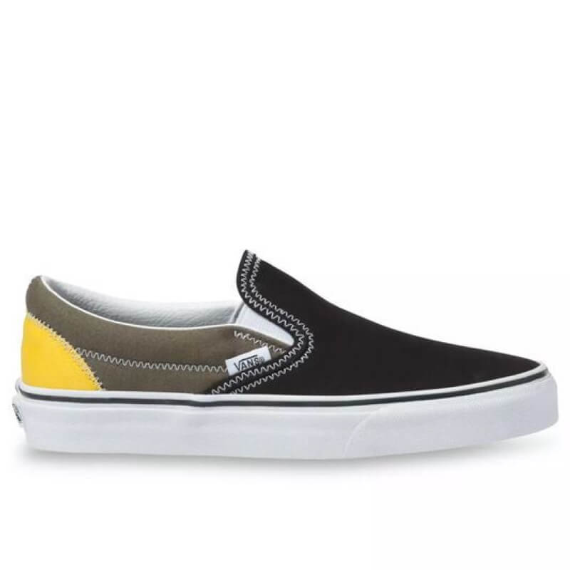 Van Multi Colored Slip On Skate Shoes