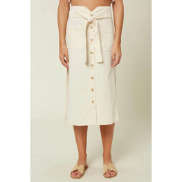O'Neill Davey Womens White Skirt