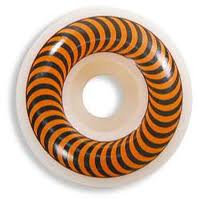 Spitfire Classics 53mm White Orange Skateboard Wheel