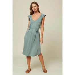 O'Neill Deviea Womens Washed Spruce Green Dress