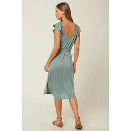 O'Neill Deviea Womens Green Dress