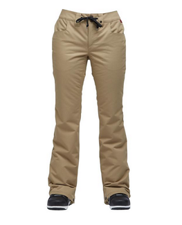 Airblaster Fancy Pants Womens Khaki Snowboard Pants