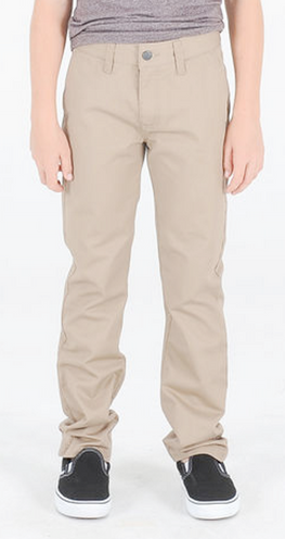 Volcom Frickin Modern Youth Khaki Chino Pants
