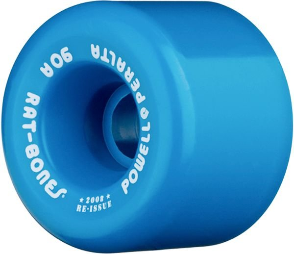 Powell Peralta Ratbones 60mm 90a Blue Skateboard Wheels