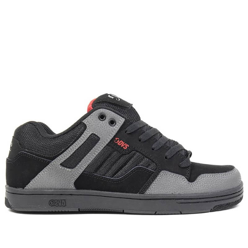 Dvs Black and Grey Puffy Skate Shoe