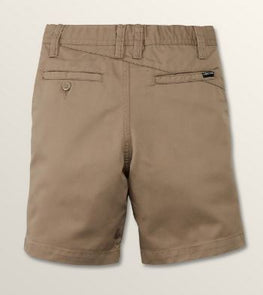 Volcom Shor Freakin Chino Youth Boys Tan Short