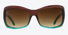 Spy Farrah Mint/Happy Bronze Fade Sunglasses