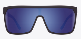 Spy Flynn Soft Matte Black/Happy Bronze Blue Spectra Sunglasses