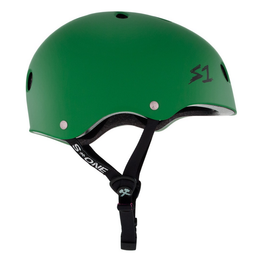 S One Lifer Matte Kelly Green Skateboard Helmet
