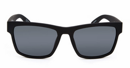 Spy Haight 2 Soft Matte Black Happy Gray Green Sunglasses