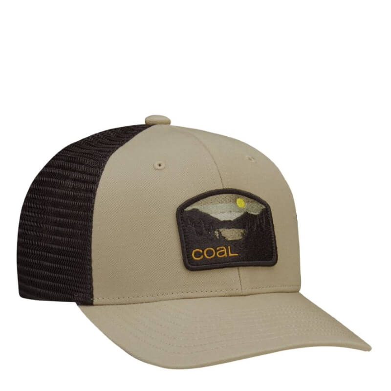 Coal Hauler Low Profile Khaki Trucker