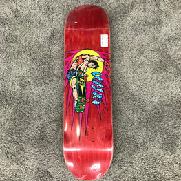 Hosoi Rocket 8.25 Inch Red Skateboard Deck