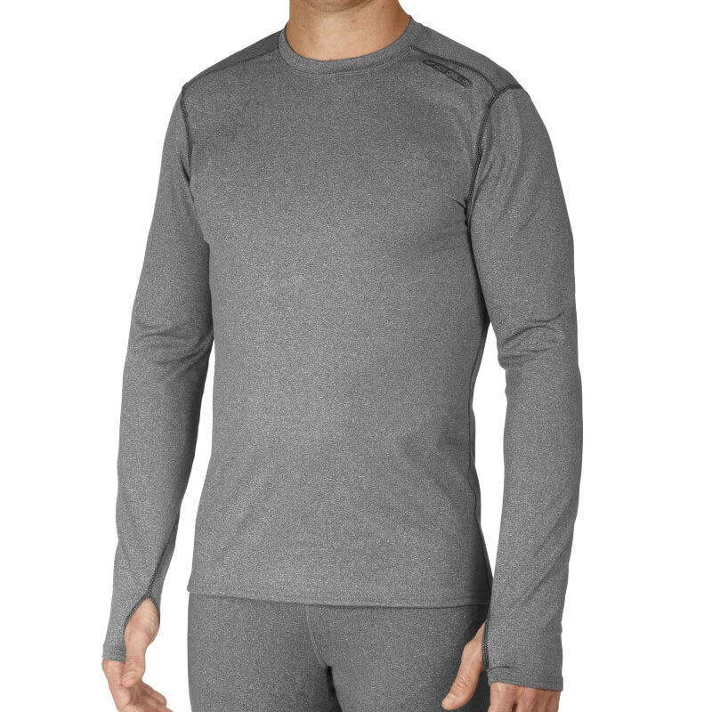 Hot Chillys Micro Elite Chamois Crew Neck Top Mens Base Layer