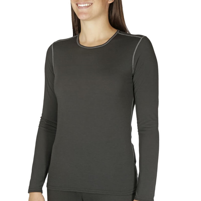 Hot Chillys Pepper Skins Crew Neck Womens Base Layer