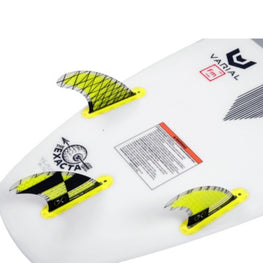 Hyperlite Carbon 4.5 Inch 3 Fin Surf Kit