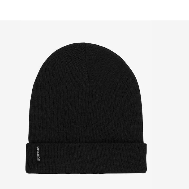 Burton Black Fold Over Beanie