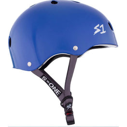 S One Lifer Gloss LA Blue Skateboard Helmet