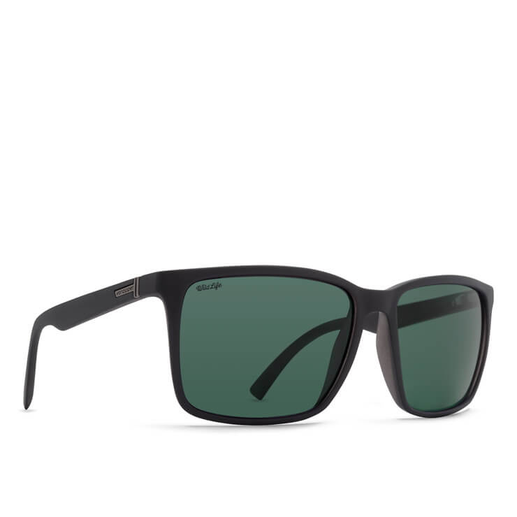 Vonzipper Black Polarized Womens Sunglasses