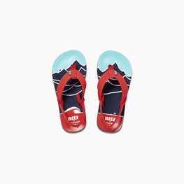 Reef Little Ahi Kids Boys Mt. Wave Sandals