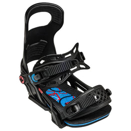 Bent Metal Logic Black Snowboard Bindings