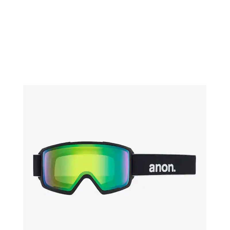 Anon M3 Black Goggles with Sonar Lens