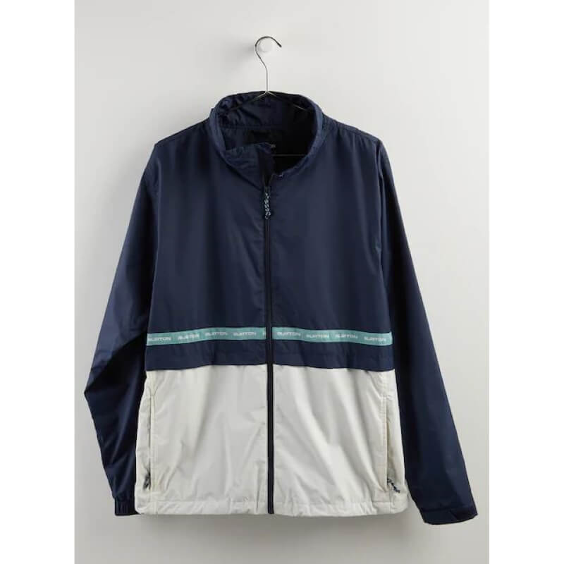 Burton Blue and White lightweight jacket