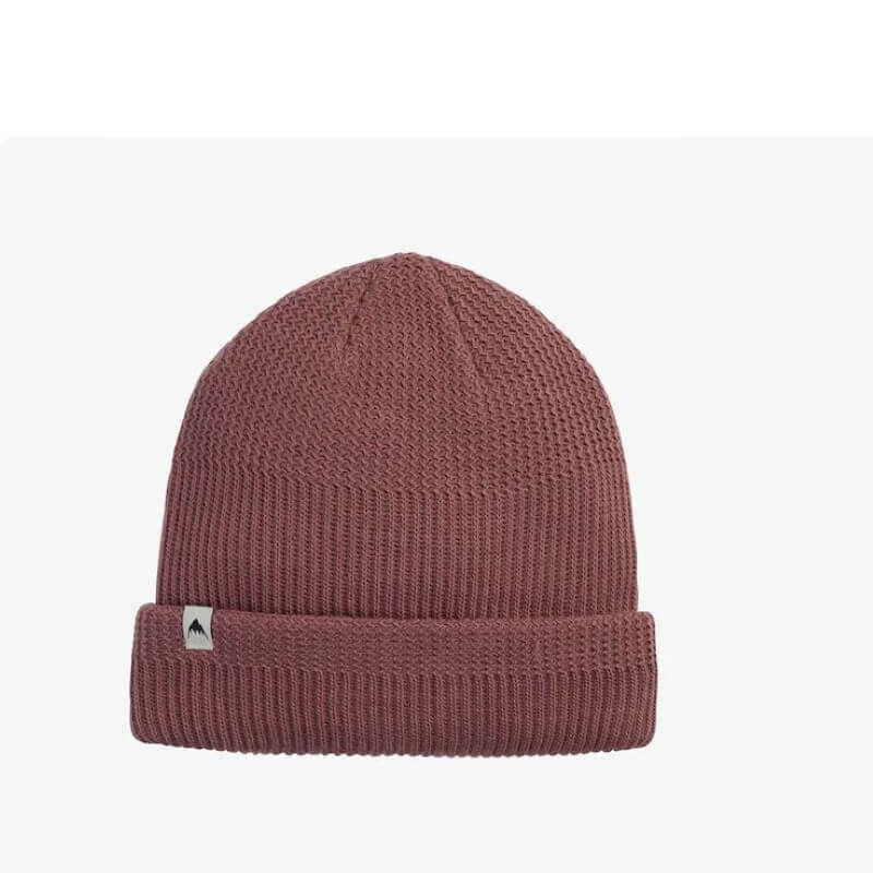 Burton Rose Brown Mix Knit Beanie