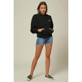 O'Neill Nikki Womens Black Pullover Hoodie