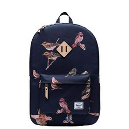 Herschel Navy Bird Print Backpack