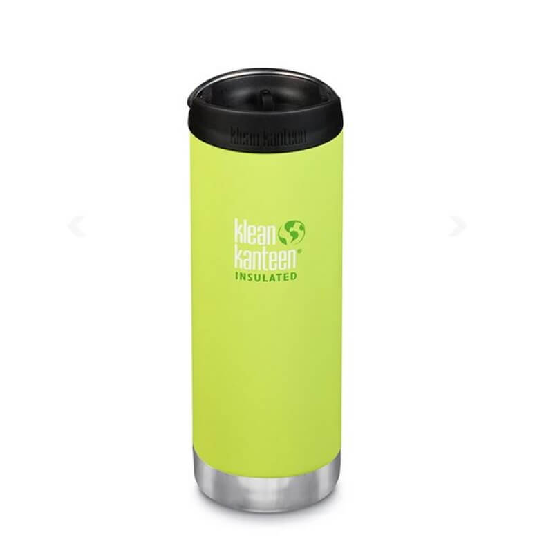 Klean Kanteen Insulated Light Green Bottle