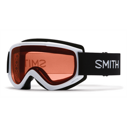 Smith Optics Cascade Classic White Snow Goggles With Pink Lens