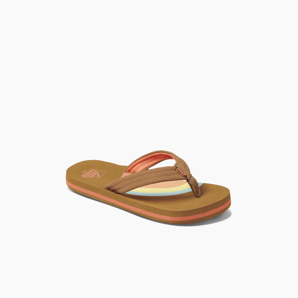 Reef Ahi Kids Girls Rainbow Sandals