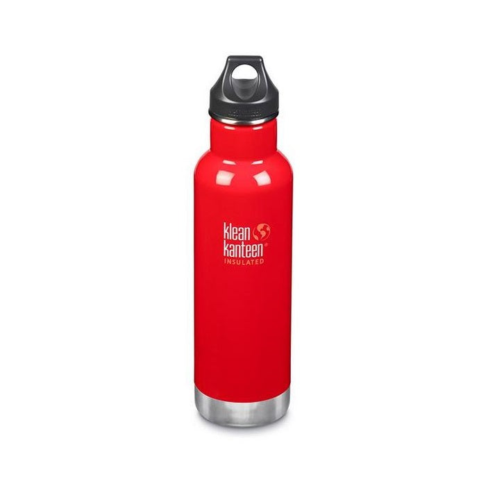Klean Kanteen 20oz Classic Mineral Red Insulated Water Bottle