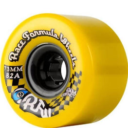 Sector 9 Race Formula 73mm 78a Yellow Longboard Wheels