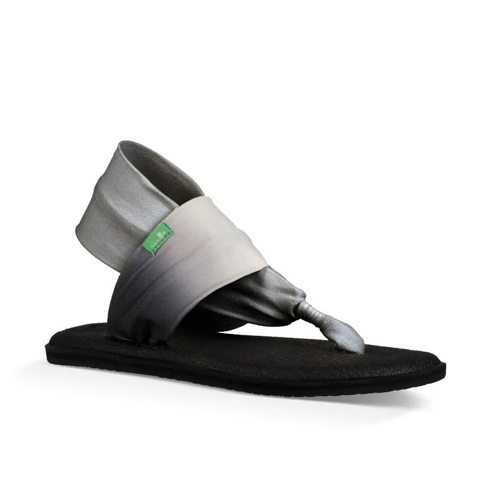 Sanuk Yoga Sling 2 Womens Ombre Black and White Sandals