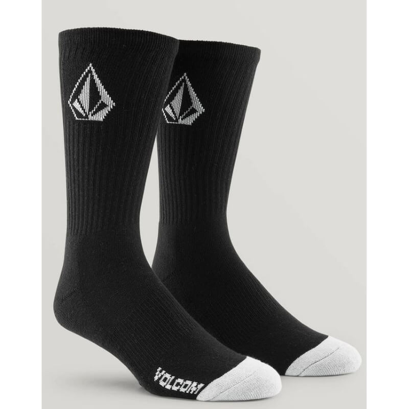 Volcom Stone Black Socks
