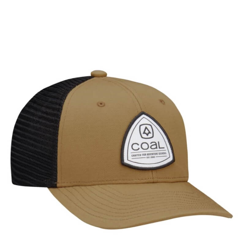 Coal Tan and black Sterling Trucker Cap