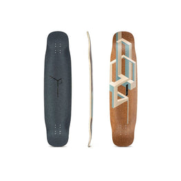 Loaded Tesseract Basalt Longboard Deck Blemished