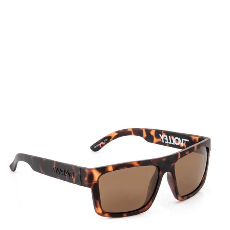 Carve Volley Matte Tortoise Polarized Brown Floatable Sunglasses