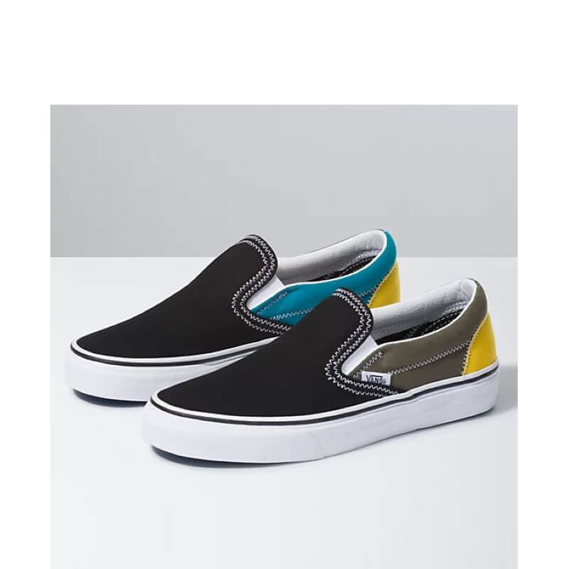 Vans Zig Zag Classic Slip On Multi Skate Shoes