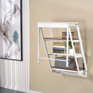 Wall-Mounted Convertible Shelf/Table