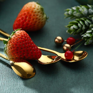 Stainless Steel Christmas Tea Spoons 6pcs Set