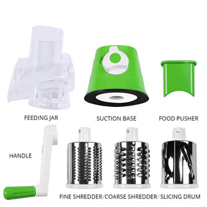 Manual Multifunctional Vegetable Cutter & Slicer