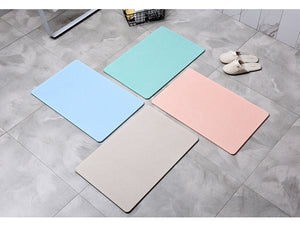 Fast Drying Absorbent Bathroom Mat