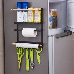 Magnetic Rack & Paper Towel Holder