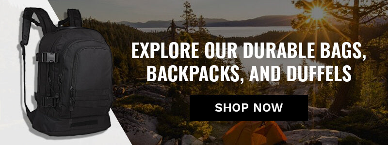Durable Dependable Bags Backpacks and Duffels