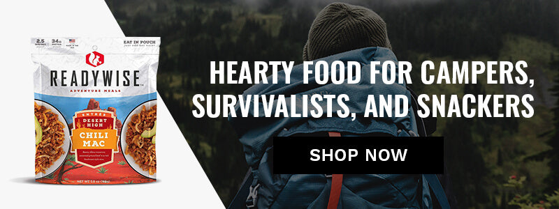 Hearty Food for Campers, Survivalists, and Snackers